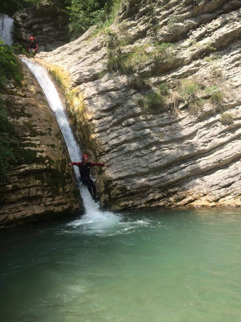 toboggan canyon vercors