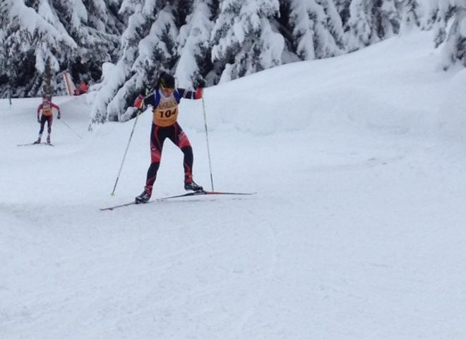 Personne qui pratique le ski de fond
